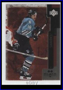 1997/98 Mike Ricci Teal San Jose Sharks Game Used Worn Jersey, Photo Matched