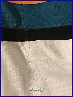 Brent Burns 2015/16 Game Used Worn San Jose Sharks Jersey, Photo Matched