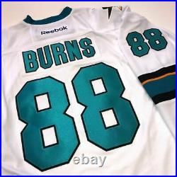 Brent Burns San Jose Sharks Reebok NHL Premier White Jersey New With Tags