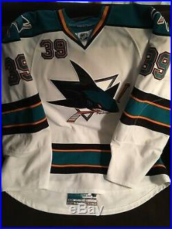 Logan Couture 2009/10 Game Used Rookie Jersey with COA and Photo matched
