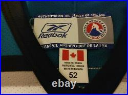 NHL San Jose Sharks AHL Cleveland Barons Authentic Reebok Jersey Size 52 NWT