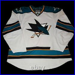 NWOT Authentic Edge 1.0 San Jose Sharks Jersey Reebok Made In Canada Mic
