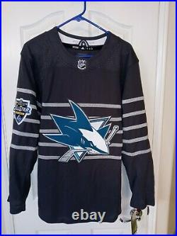 San Jose Sharks Adidas 2020 NHL All-Star Game Authentic Jersey NEW NWT Size 44