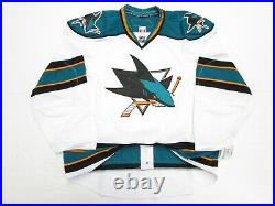San Jose Sharks Away Authentic Team Issued Reebok Edge 2.0 7287 Jersey Size 58+