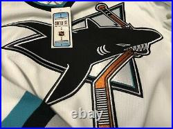 San Jose Sharks Vintage AUTHENTIC NHL CCM Center Ice Jersey NWT Size 54