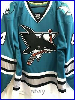 San Jose Sharks authentic heritage jersey size 54 signed by Vlasic