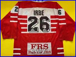 Team CCCP Arturs Irbe Game Worn Issued Jersey Russia San Jose Sharks NHL
